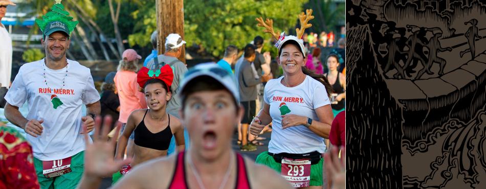 kona 5k fun run hawaii jingle bell beach 5k run eventkona 5k fun