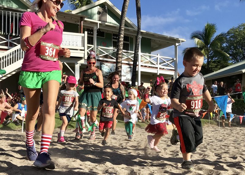 Jingle Bell Beach Run - Santa's Keiki Dash