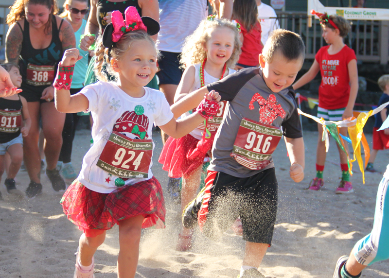 Kid's Christmas Fun Run - Kona, Hawaii